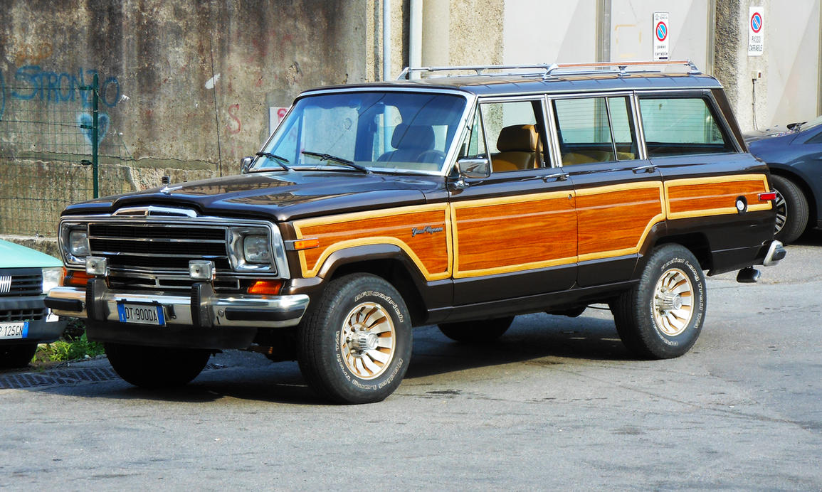 jeep grand wagoneer 5 9 l amc v8 by gladiatorromanus on deviantart. Cars Review. Best American Auto & Cars Review