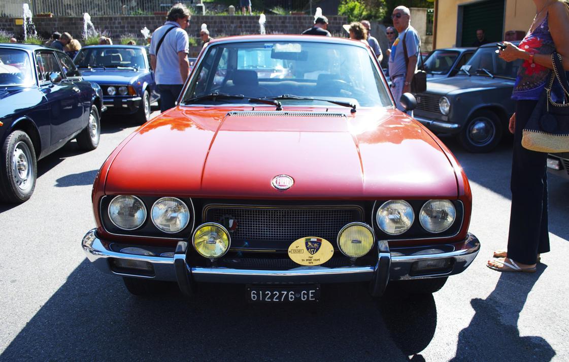 1975 fiat 124 sport 1800 by gladiatorromanus on deviantart - 1975 fiat 124 sport coupe ...