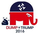 Dump Trump GOP Logo V3