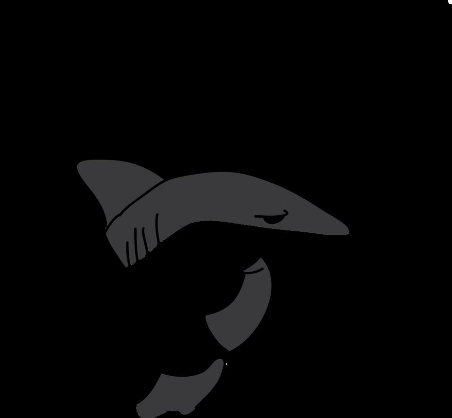 shark cartoon by airgraffiti on deviantart