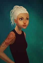 henna tattoo by irmirx