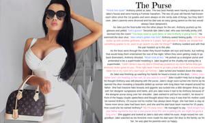 The Purse TG Caption (TG, AP) by hashtagwoke