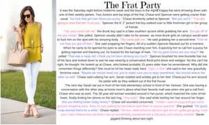 The Frat Party TG Caption (TG,AP) by hashtagwoke