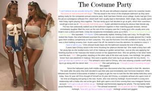 The Costume Party TG Caption (TG, AR) by hashtagwoke