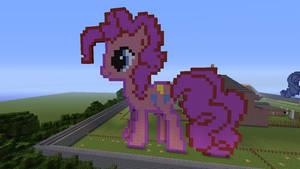Pinkie Pie Made In Minecraft