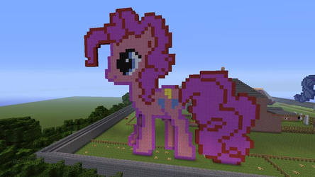 Pinkie Pie Made In Minecraft