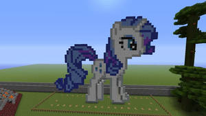 Rarity Made In Minecaft by ty7711