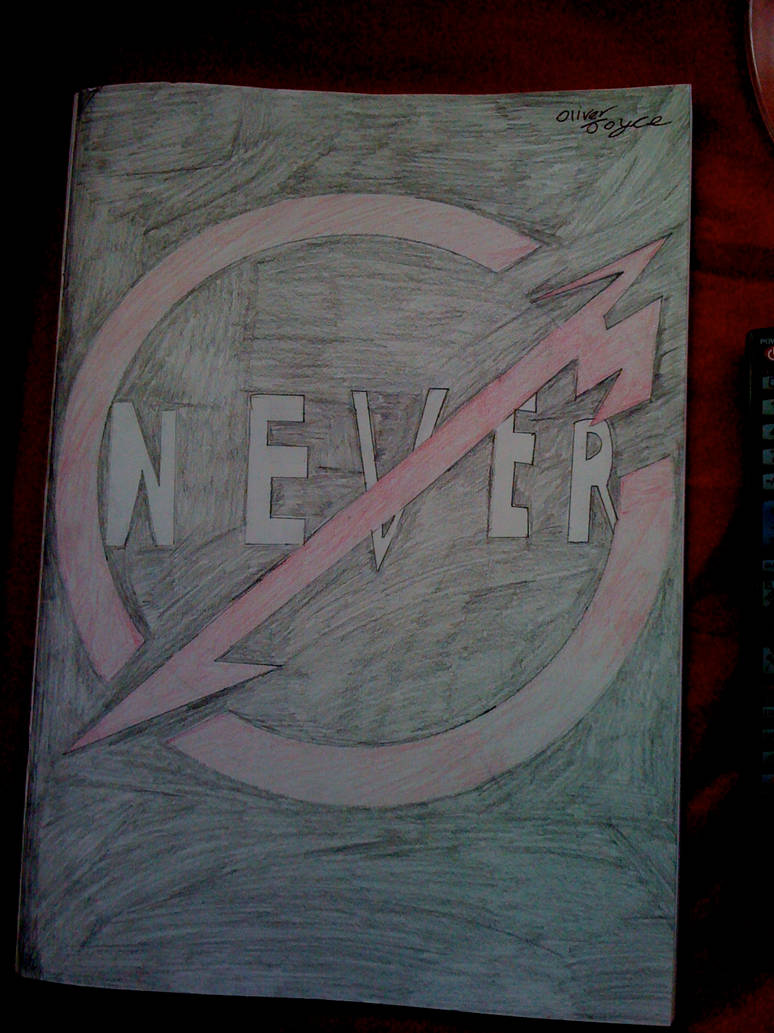Metallica Through The Never Logo Poster Art by ty7711