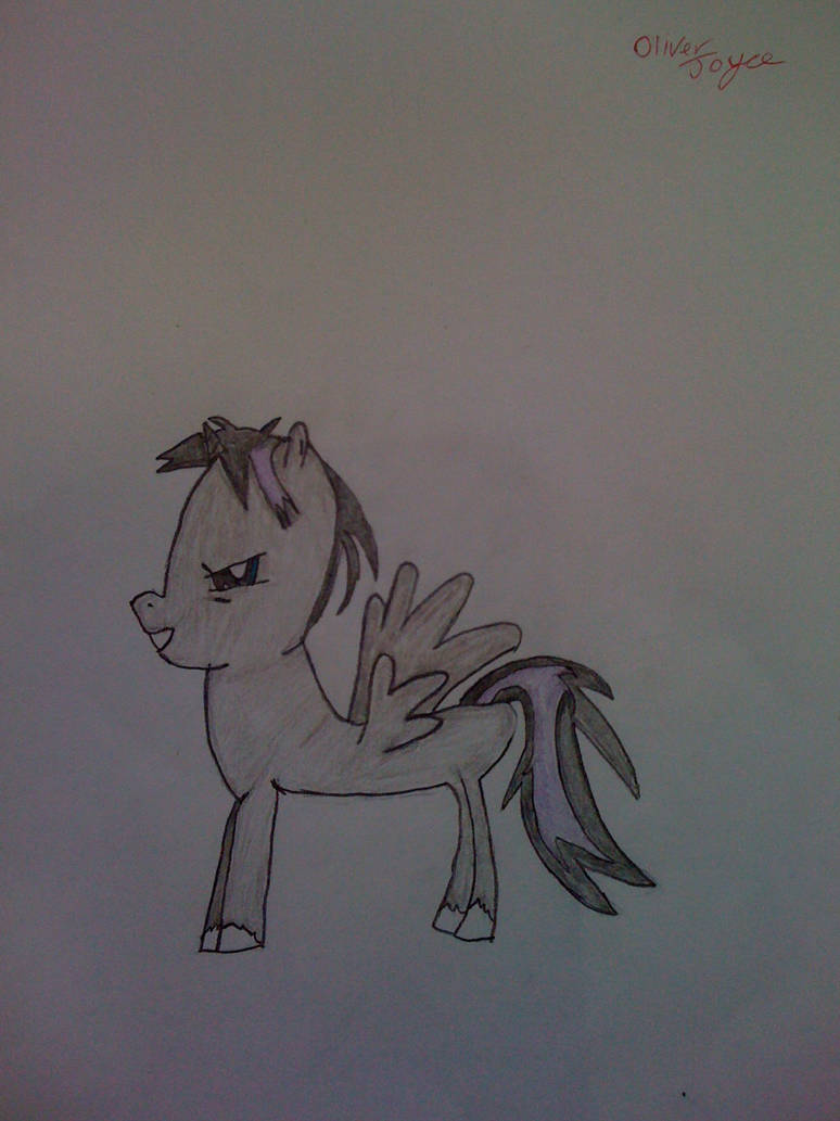Me as a pony ''Master of Shadows''