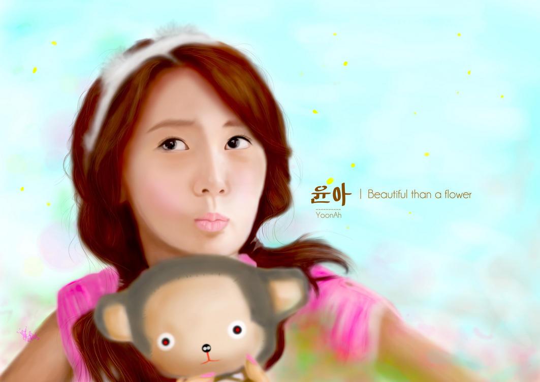 رسومات snsd Yoona_snsd_by_sample2-d4f0kgk