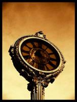 Clock and Reflection by drakosha