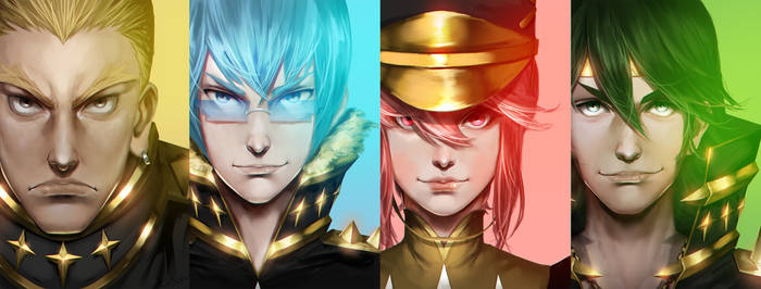 kill la kill Elite Four