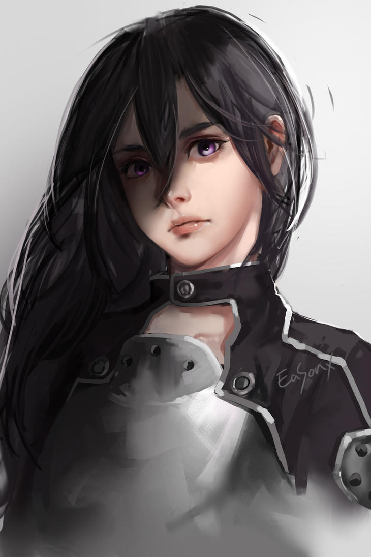 Anime Characters Realistic : Sword art online kirito by a on deviantart