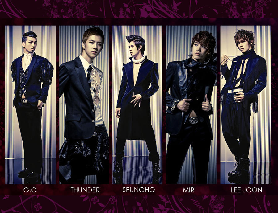 Mblaq: Group Wallpaper by KirstyR