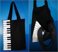 Nodame tote bag by Cheila