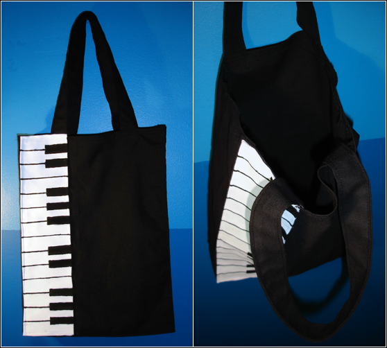 Nodame tote bag by Cheila