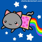 Nyan Cat cuteness overload