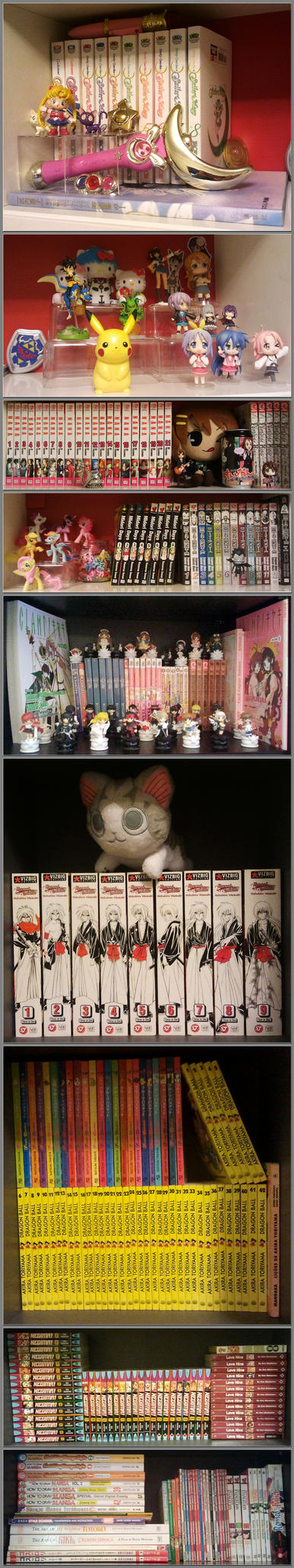 Updated Manga Colection by Cheila