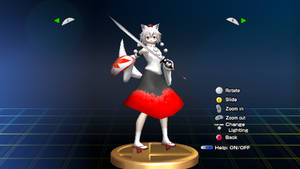[Actual Trophies] Momiji Inubashiri