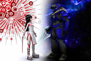 Two Parallel Worlds by JerichoAkemi