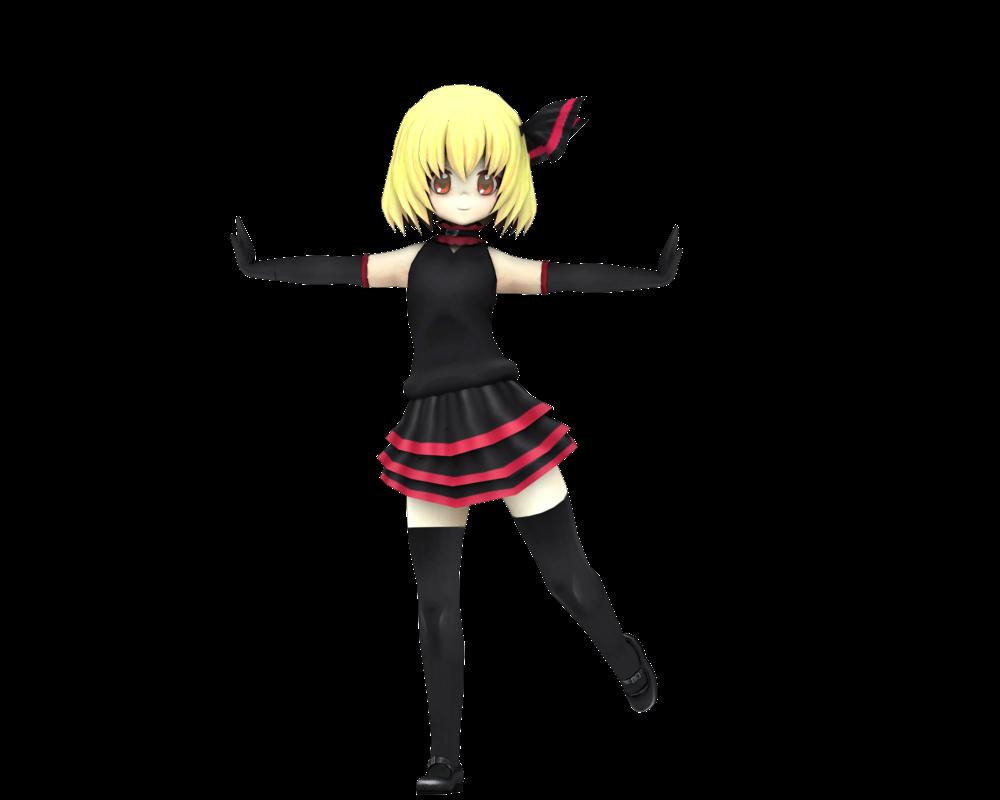 Rumia's new costume