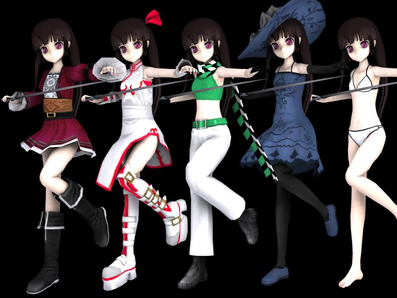 Mazeru Alternate models [preview]