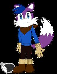 Purple the Fox by RagingFurry