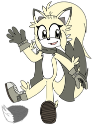 Amber the Fox by RagingFurry