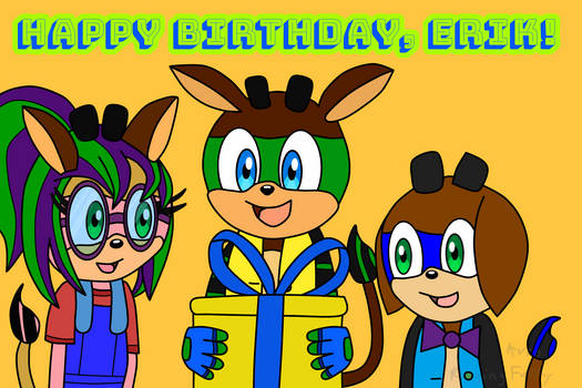 Happy Birthday Erik!