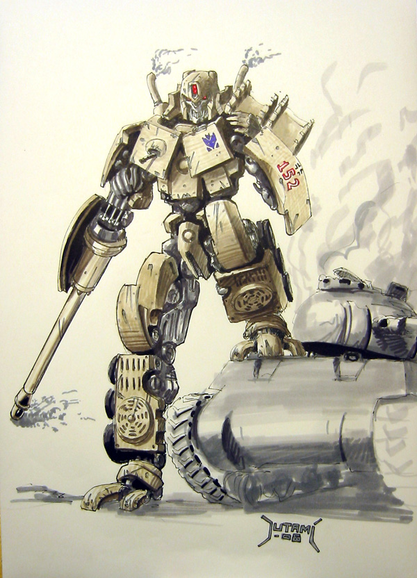 Devastator WW2 Kingtiger by Jutami