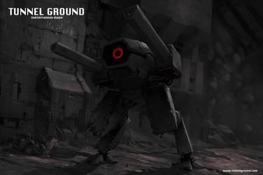 Tunnel Ground Subterranean Dawn game concept art 2 by Jutami