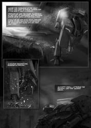Tunnel Ground  Subterranean Dawn game comic page 2 by Jutami