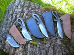 Viking blacksmith's knives