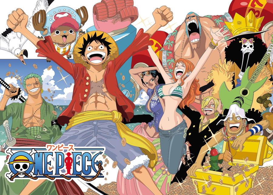 Gallery One Piece Luffy Crew New World
