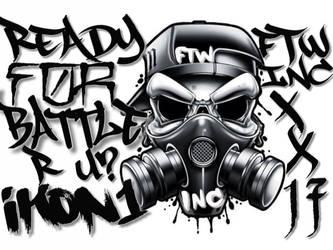 Graffiti  by Victor492