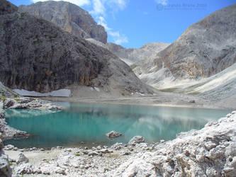 Magical lake I by LBreda