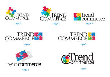 TrendsCommerce Draft Logos by badmister