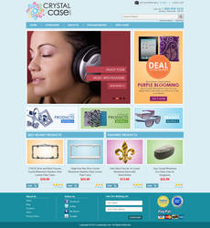 Crystalcase website by badmister