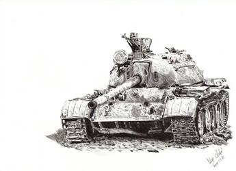 T55 from Iraq by Einsklein