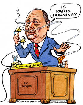 Chirac: Is Paris Burning?