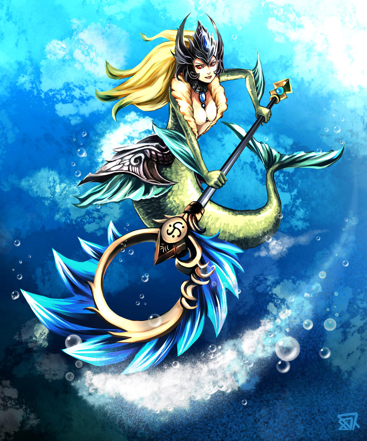 lol nami by acesla