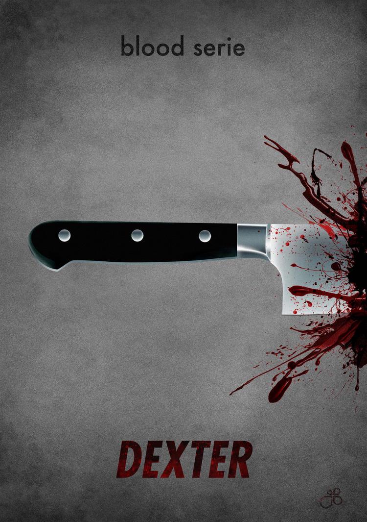 dexter blood splatter poster - photo #29