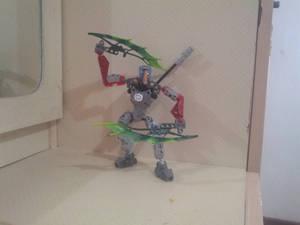 Bionicle M.O.C : Toa Nixen (Self - Moc)