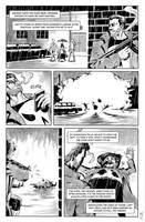Punisher and Batman page 2 by electronicron