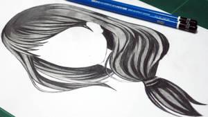 Drawing Anime Girl Long Hairstyles