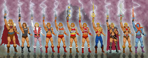 Man-E-Faces of He-Man