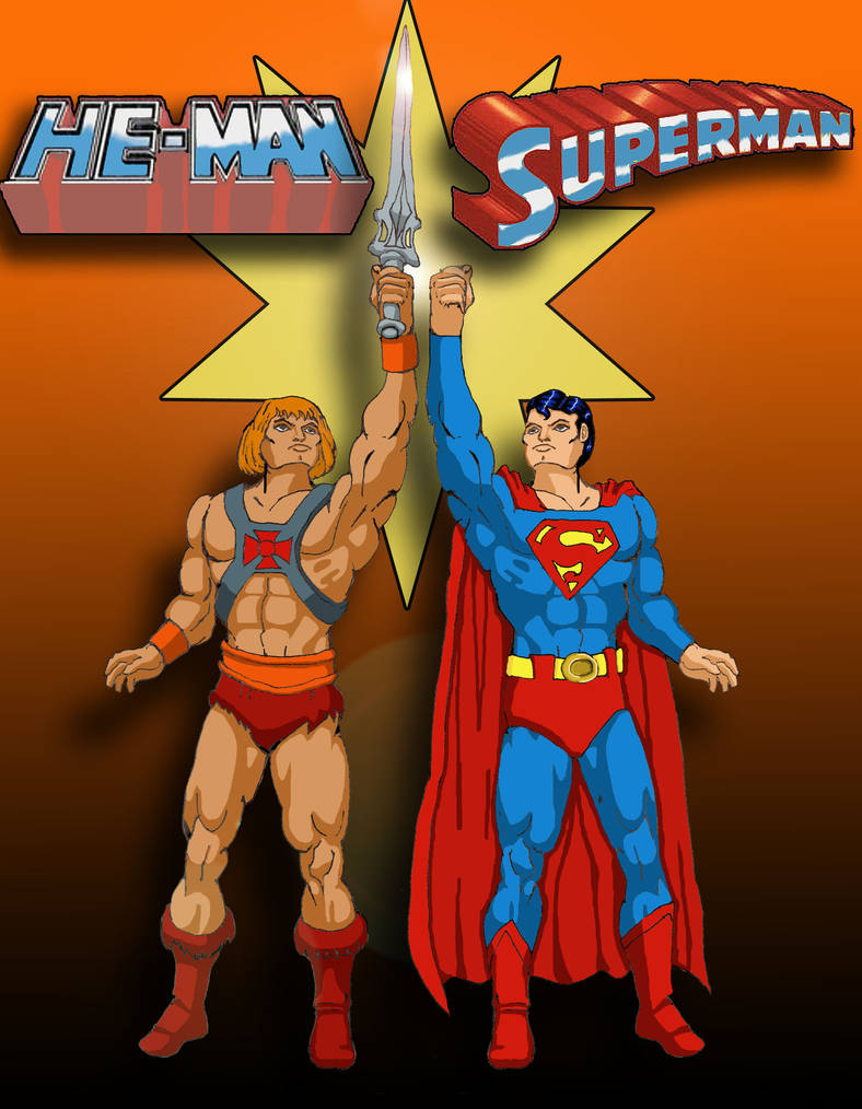 He Man Superman By Toe Knee Bee Ears On Deviantart