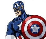 Captain America Color  Copy