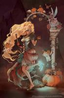 Cinderella in color by Yoyaan