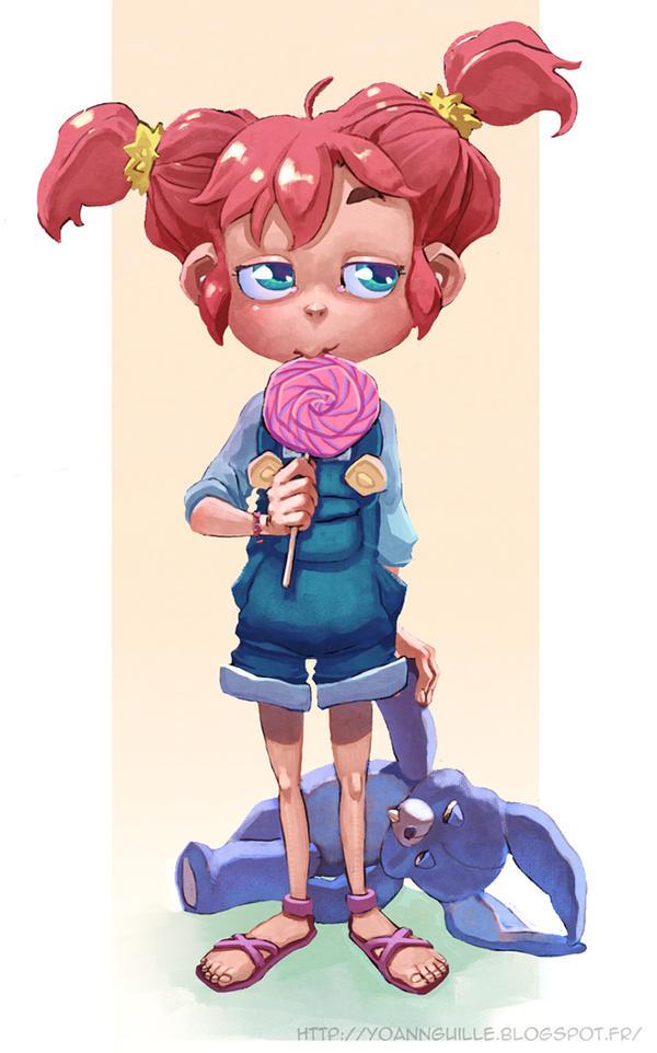 Cute Girl by Yoyaan